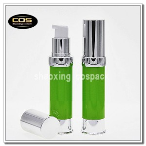 20ml airless cosmetic pump packaging online