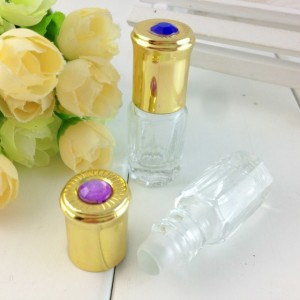 3 ml small glass roll-on bottles