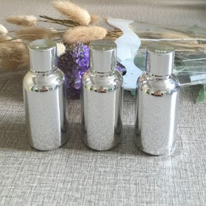 30ml silver glass bottles essential oils